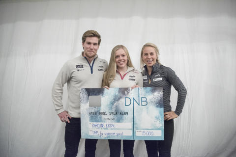 DNB stipend Karoline Erdal