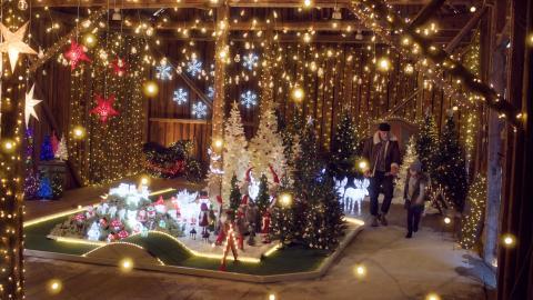 Rusta för julen på Stockholms Centralstation!