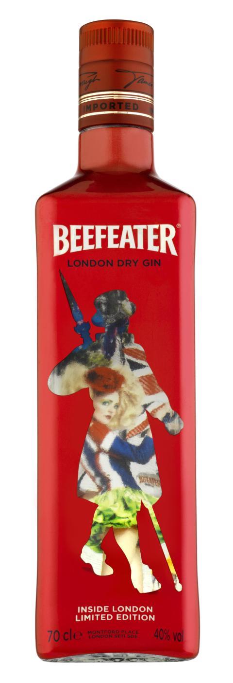Beefeater firar ett historiskt år i London
