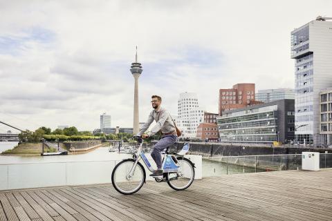 FordPass Bike: Deutsche Bahn Connect und Ford kooperieren beim Bikesharing in Köln und Düsseldorf