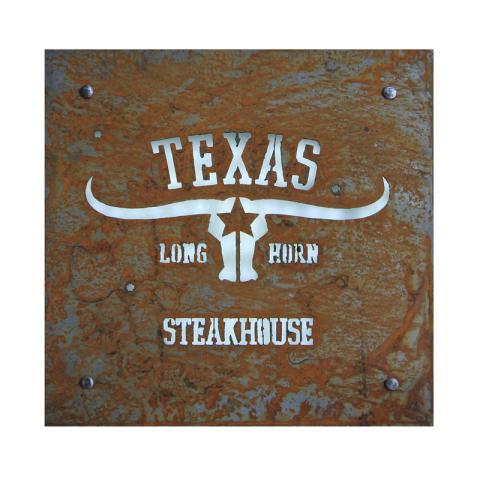 Ljusskyltar Texas longhorn