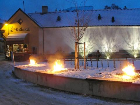 Invigning av S:t Hansplan i Visby