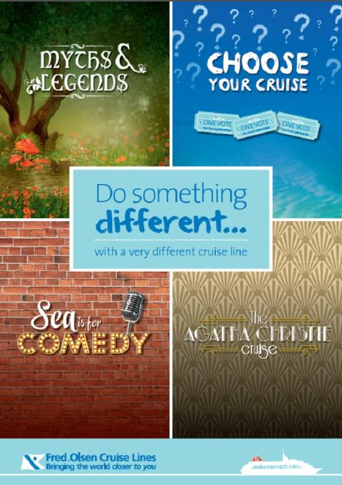 'Do Something Different' this autumn with Fred. Olsen Cruise Lines