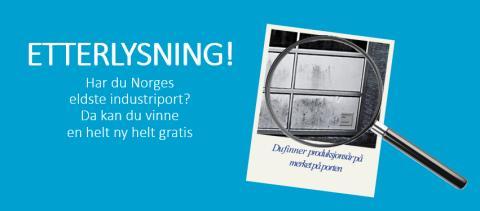 Vi jakter Norges eldste industriport