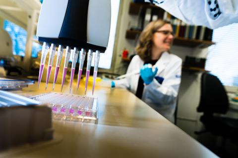 Forskare vid Linköpings universitet undersöker hur bakteriefloran i tarmen påverkar risken att barn får allergi och astma.