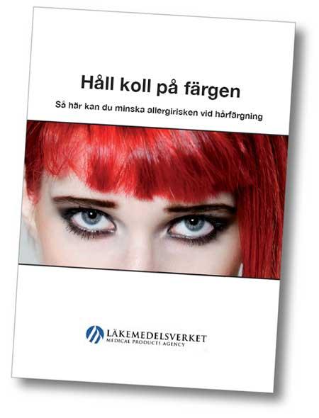 Kampanj för att minska allergirisk vid hårfärgning