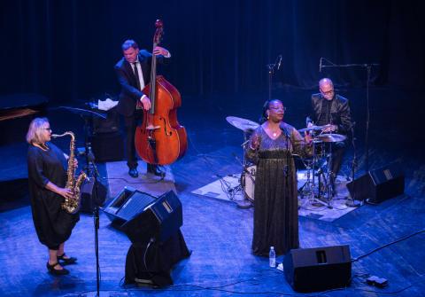 Bodil Niska kvartett med England Brooks 170817 Oslo Jazzfestival