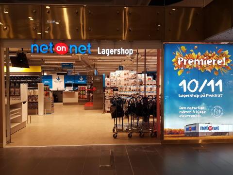 Premiär för NetOnNet Lagershop i Norge