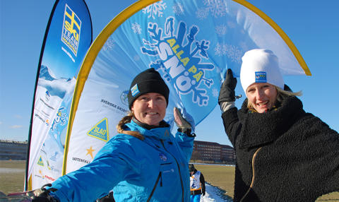 GEN-PEP ny samarbetspartner till Alla på snö