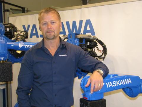 Pär Tornemo, ny President/COO för Yaskawa Nordic AB.