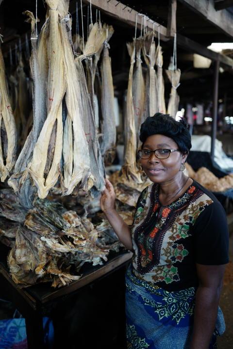 Marked i Lagos