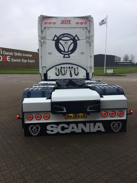 Ny Scania R 450 til vognmand Lars Justesen