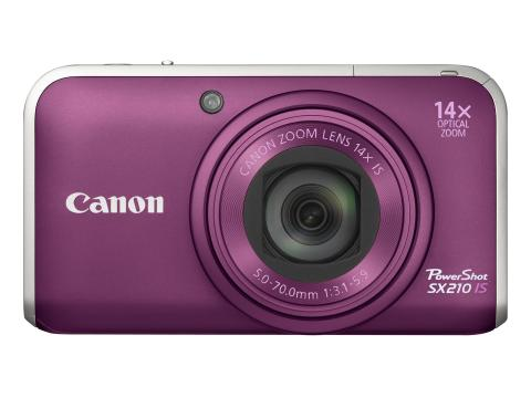 Power Shot SX210 Purple