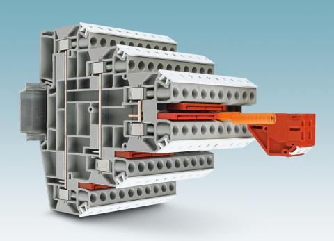 Space-saving wiring up to 10 mm²