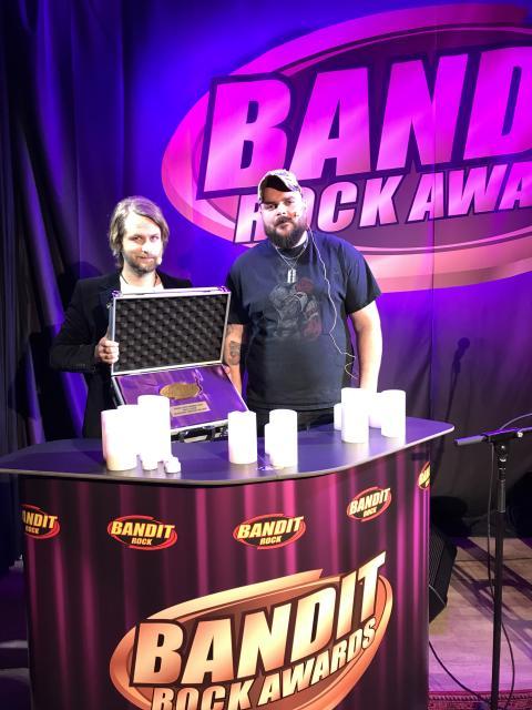 Vinnarna i Bandit Rock Awards 2018 korade!