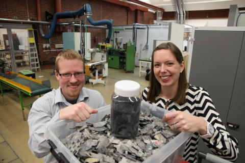 Miljöstipendium till ny teknik för plaståtervinning