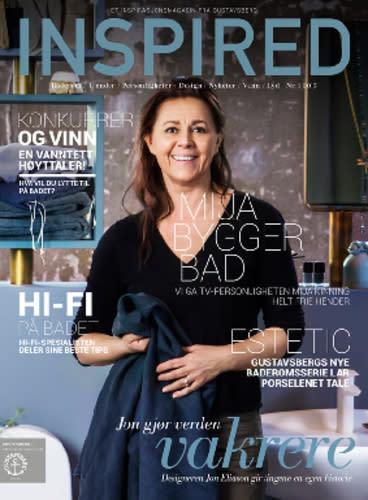 Gustavsberg lanserer magasinet INSPIRED -  inspirerer til fremtidens baderom
