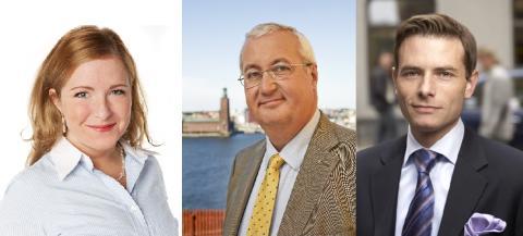 Nordin/Larsson/Kevius (M): Satsningar i Budget 2013 på ökat byggande i Stockholms stad