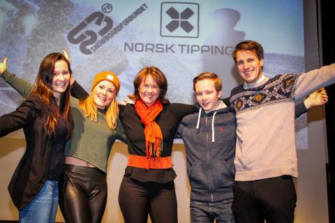 Norsk Tipping ny generalsponsor av Snowboardforbundet
