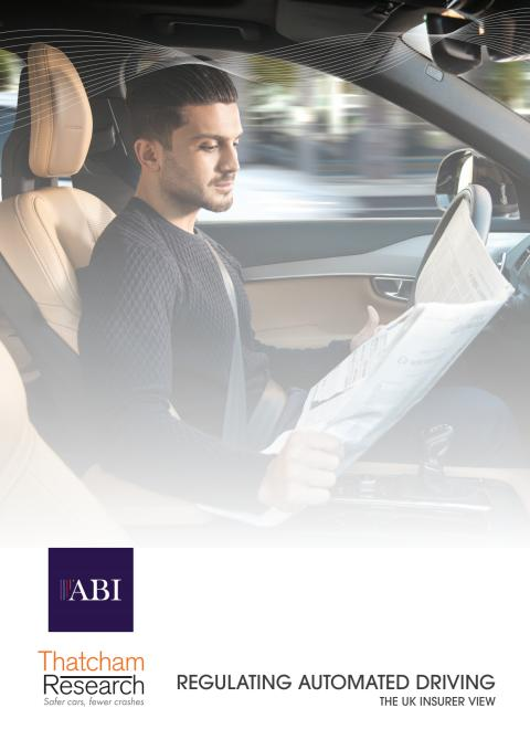 """""""Regulating Automated Driving"""" - a UK Insurer View"""