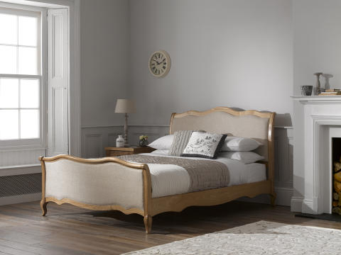 Dreams Regent wooden and fabric bed frame