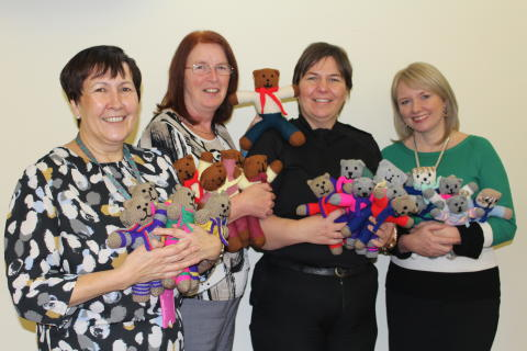 Trauma teddies handcrafted to comfort kids in Moray