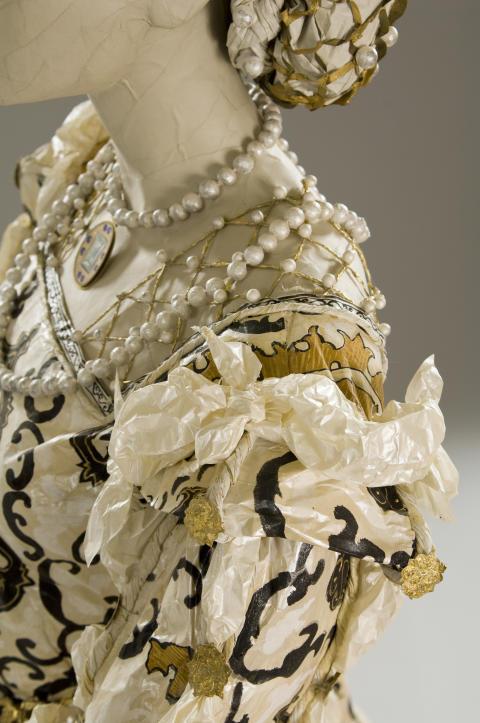 Eleonora av Toledo, klänning, detalj -  klänning