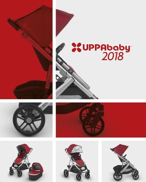Nu rullar vi ut 2018 års kollektion från UPPAbaby