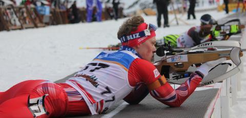 Endre Strømsheim, skytebane,  sprint ungdom menn, junior-vm 2016