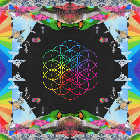 COLDPLAY'S NEW ALBUM, A HEAD FULL OF DREAMS, IS OUT TODAY.