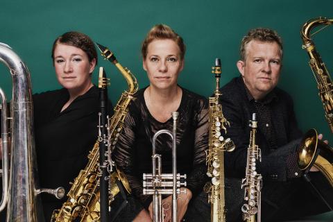 Pressbild Lina Nyberg, Fredrik Ljungkvist och Cecilia Persson