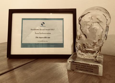 Årets ljudinnovation på Stockholm Sound Award 2017 gick till Lexter