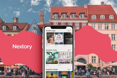 Et nyt, bogrigt alternativ: Nu lanceres Nextory i Danmark