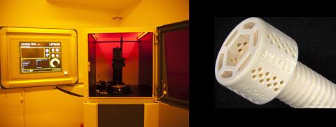 3D-tillverkning av högpresterande keramkomponenter