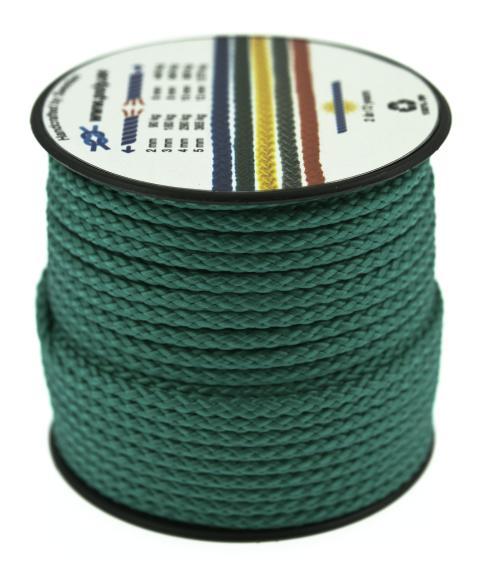Poly-Light-8 grön, 3 mm x 25 m, spole