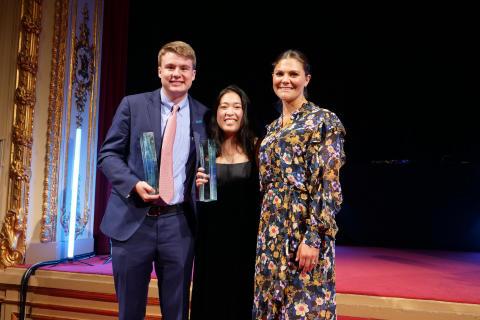 US pair win 2017 Stockholm Junior Water Prize
