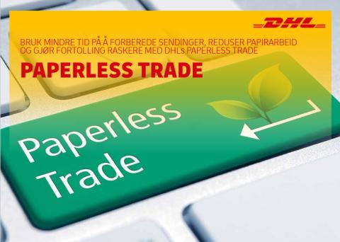​Paperless Trade - less paper, more speed!