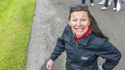 Lotta Engberg på Barngolfen 2017