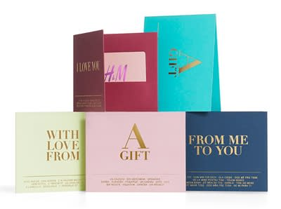 Presentkort - H&M