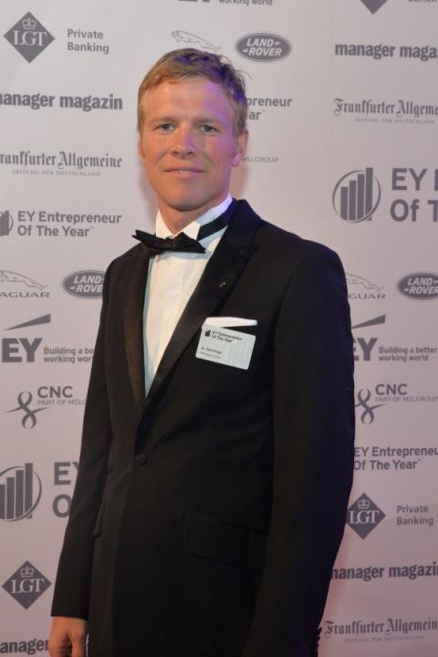 Finalist Entrepreneur Of The Year 2015, Dr. Rolf Kluge, CTO APPSfactory