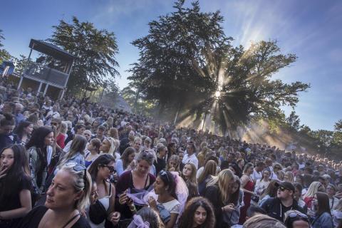 Tivoli Friheden er klar med det fulde program til Fed Fredag-koncerterne 2019