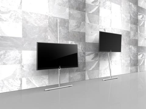 Ny enestående tv-stand fra Loewe - Wall Stand Flex