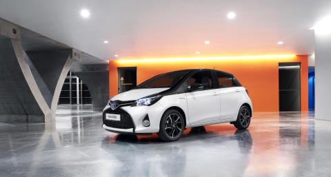 Toyota förnyar Yaris-familjen med höjd säkerhet och ny version