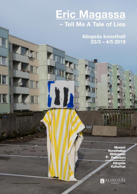 Pressinbjudan: Eric Magassa på Alingsås konsthall