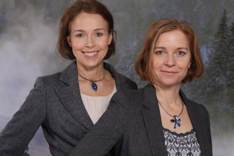 Karin Bodin och Anna Borgeryd på Polarbröd finalister i Beautiful Business Award 2013