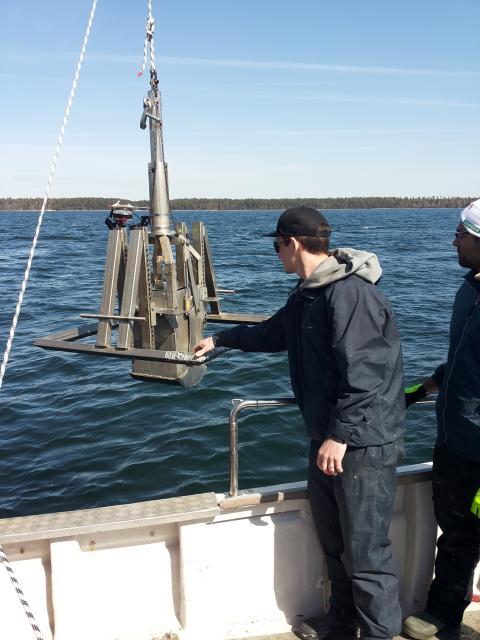 Östersjöns mjukbottenmusslor och maskar producerar lika mycket växthusgas som  20 000 mjölkkor