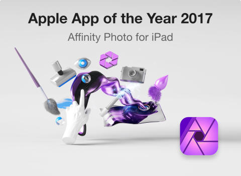 Affinity Photo iPad App of the Year