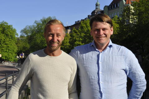 Founder and CEO Mikael Jansson and Chief Technology Officer Per Hägerö