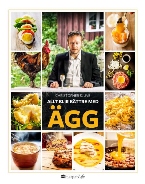 Ägg är livet! Nu kommer den ultimata boken om ägg på svenska.