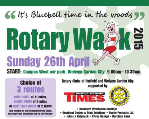 The Welwyn Hatfield Rotary Walk